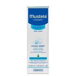 Mustela Hydra-Bebe крем для лица увлажняющий детский, крем для детей, 40 мл, 1шт.