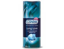 Гель-смазка Contex Long Love, гель, продлевающие половой акт, 100 мл, 1шт.