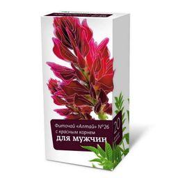 Фиточай Алтай №26 Для мужчин Красный корень