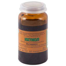 Ихтиоловая мазь, 20%, мазь для наружного применения, 25 г, 1 шт.