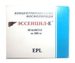 Эссенцил-Е, 0.3 г, капсулы, 30 шт.