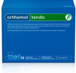 Orthomol Tendo, порошки, таблетки и капсулы, на 30 дней, 30 шт.