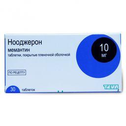 Нооджерон, 10 мг, таблетки, покрытые пленочной оболочкой, 30 шт.