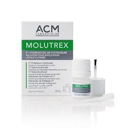 Молютрекс раствор для лечения контагиозного моллюска, раствор для местного применения, 3 мл, 1 шт.