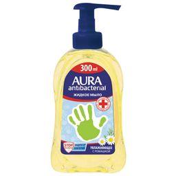 Aura мыло жидкое антибактериальное Ромашка