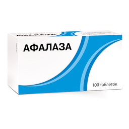 Афалаза, таблетки для рассасывания, 100шт.