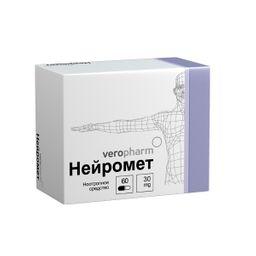 Нейромет, 30 мг, капсулы, 60 шт.