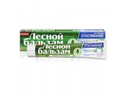 Лесной бальзам Зубная паста Натуральное отбеливание, с фтором, паста зубная, 75 мл, 1 шт.