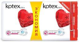Kotex ultra super прокладки поверхность сеточка, прокладки гигиенические, 16шт.