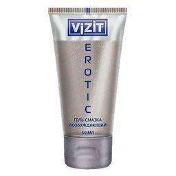 Гель-смазка Vizit Erotic, гель, 50 мл, 1 шт.