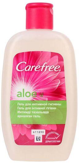 Carefree Aloe гель для интимной гигиены, гель для местного применения, с алоэ, 200 мл, 1 шт.