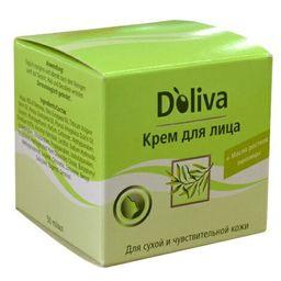 Doliva Крем для лица для сухой и чувствительной кожи, крем для лица, 50 мл, 1 шт.