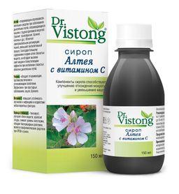 Сироп Алтея с витамином С Dr. Vistong