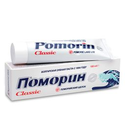Pomorin Classic Зубная паста без фтора, паста зубная, 100 г, 1шт.