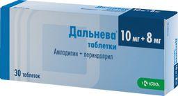 Дальнева, 10 мг+8 мг, таблетки, 30 шт.