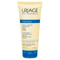 Uriage Xemose Масло очищающее успокаивающее, масло для душа, 200 мл, 1шт.