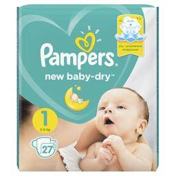 Pampers New baby-dry Подгузники детские