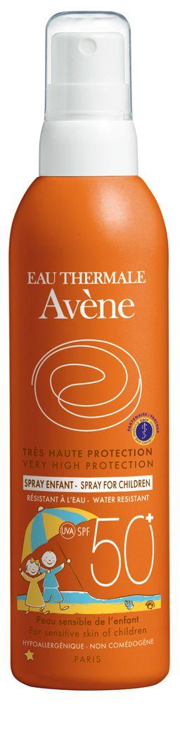 Avene солнцезащитный детский спрей