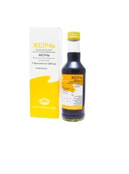 Желчь медицинская консервированная, эмульсия для наружного применения, 250 мл, 1 шт.