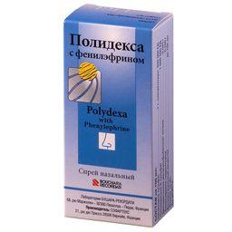 Полидекса с фенилэфрином, спрей назальный, 15 мл, 1 шт.