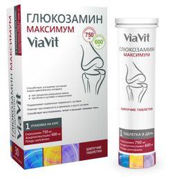 Глюкозамин Максимум ViaVit, 4.4 г, таблетки шипучие, 30шт.