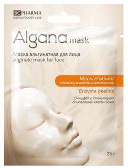 Algana Маска-пилинг альгинатная, маска для лица, 25 г, 1 шт.