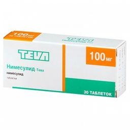 Нимесулид-Тева, 100 мг, таблетки, 30 шт.
