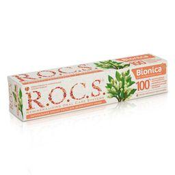 ROCS Bionica Зубная паста для чувствительных зубов, без фтора, паста зубная, 74 г, 1 шт.