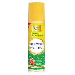 Золотой шелк Экспресс-кондиционер Витамины против выпадения волос, кондиционер для волос, 200 мл, 1шт.