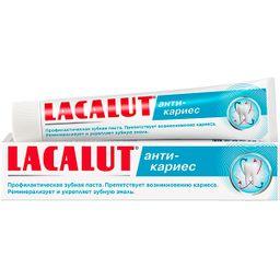 Lacalut Анти-кариес Зубная паста, паста зубная, 75 мл, 1 шт.