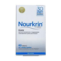 Нуркрин для мужчин, таблетки, 60 шт.