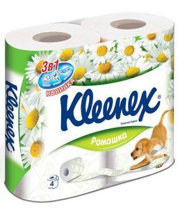Kleenex Ромашка Туалетная бумага