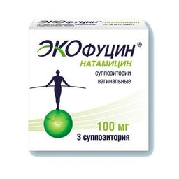 Экофуцин, 100 мг, суппозитории вагинальные, 3 шт.