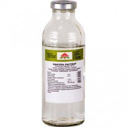 Рингера раствор, раствор для инфузий, 200 мл, 1 шт.