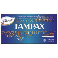 Tampax super plus тампоны женские гигиенические с аппликатором, 16шт.