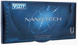 Презервативы Vizit Nano-tech полиуретановые, презерватив, ультратонкие, 2 шт.