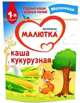 Малютка Каша молочная Кукурузная с 5 мес.