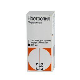 Ноотропил, 200 мг/мл, раствор для приема внутрь, 125 мл, 1 шт.