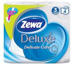 Zewa delux Туалетная бумага трехслойная белая
