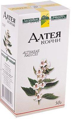 Алтея корни, сырье растительное измельченное, 50 г, 1 шт.
