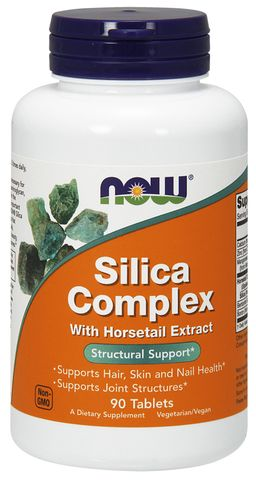 NOW Silica Complex, капсулы, 90шт.