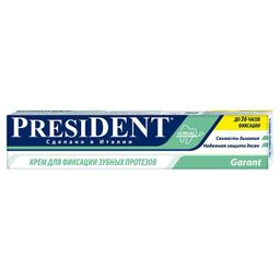 PresiDent Garant крем для фиксации зубных протезов, крем для фиксации зубных протезов, 50 мл, 1шт.