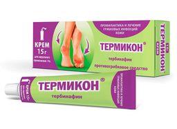 Термикон, 1%, крем для наружного применения, 15 г, 1 шт.