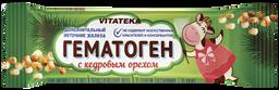 Витатека Гематоген с кедровым орехом, 40 г, 1 шт.