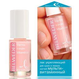 Belweder Лак укрепляющий для сухих и ломких ногтей мультивитаминный, лак для ногтей, 8 мл, 1 шт.