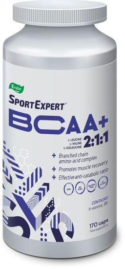 Спортэксперт БЦАА+, капсулы, 170 шт.