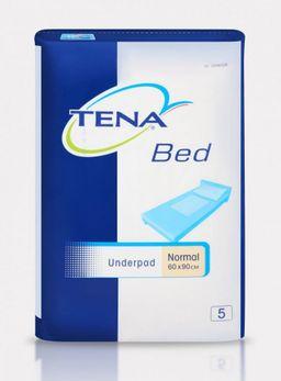 Пеленки впитывающие (простыни) TENA Bed Underpad, 90 смx60 см, Normal (2 капли), 5шт.