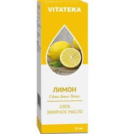 Витатека Масло Лимона эфирное, масло эфирное, 10 мл, 1 шт.