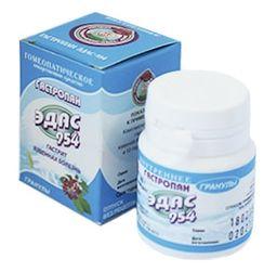 Эдас-954 Гастропан, гранулы гомеопатические, 20 г, 1 шт.