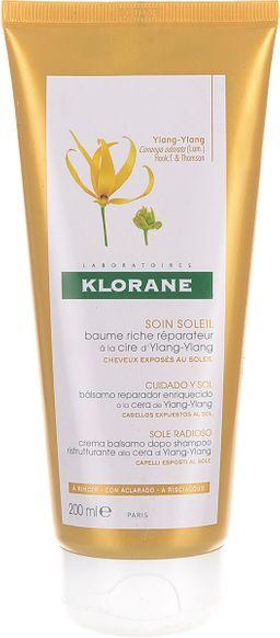 Klorane Бальзам-ополаскиватель с воском иланг-иланг, ополаскиватель для волос, 200 мл, 1шт.